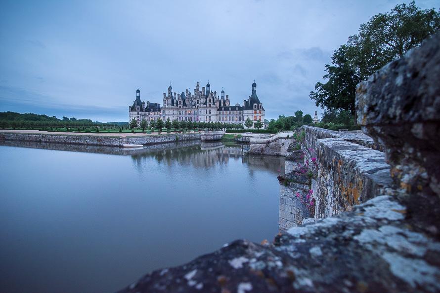 Frankreich Fotografieren Loire Tal Chateau Chambord Nikon 5564