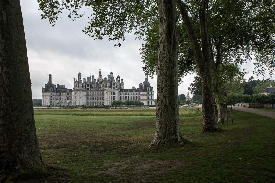 Frankreich Fotografieren Loire Tal Chateau Chambord Nikon 5609