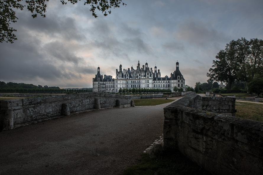 Frankreich Fotografieren Loire Tal Chateau Chambord Nikon 5621