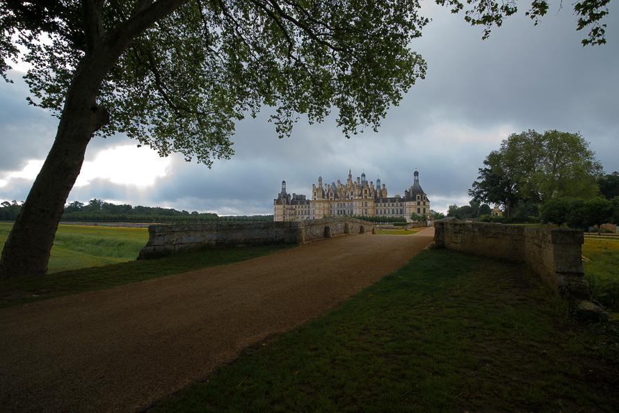 Frankreich Fotografieren Loire Tal Chateau Chambord Nikon 5689