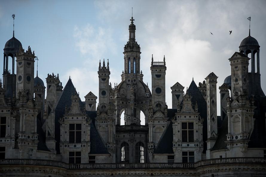 Frankreich Fotografieren Loire Tal Chateau Chambord Nikon 5796