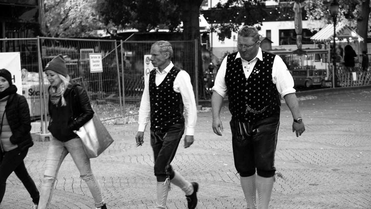 Wiener Prater Schwarz Weiss Fotografie 1100489